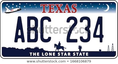 Alabama kentekenplaat kleuren vlag iconen witte Stockfoto © Bigalbaloo