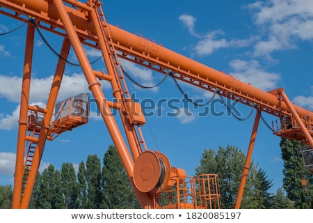 two row of rollers legs  Stock photo © Paha_L