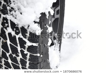 snow texture after snowstorm stock photo © kotenko
