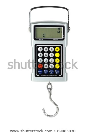 Digital fishhook weigher with built-in calculator Stock photo © digitalr