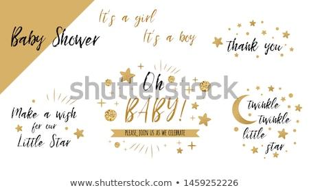 Star is born stock photo © funix
