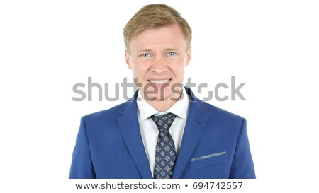 Unhappy businessman under stress after business project failure Stock photo © stevanovicigor