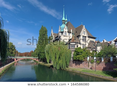 Strasbourg Lycee Pontonniers in  Alsace Stock photo © LianeM