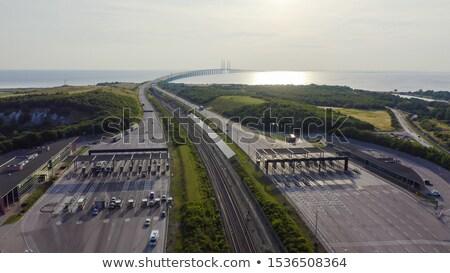 車 トンネル 橋 スウェーデン デンマーク ビジネス ストックフォト © vladacanon