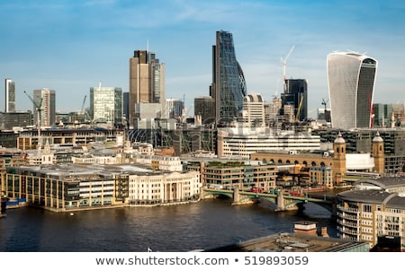 London financial district street Square Mile UK Stock photo © lunamarina