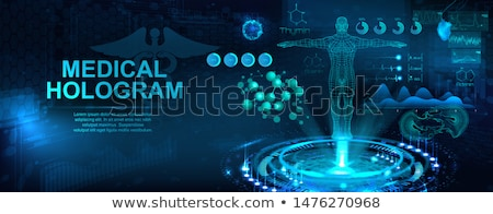 Abstract cardiology background. Medical technology concept.  Stock photo © Tefi
