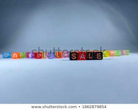 especial · preço · cartas · 3D · cor - foto stock © zerbor