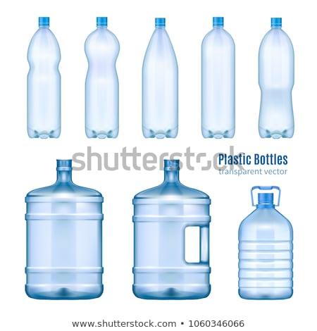 Large water bottle Stock photo © biv