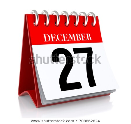 27th December Stock photo © Oakozhan