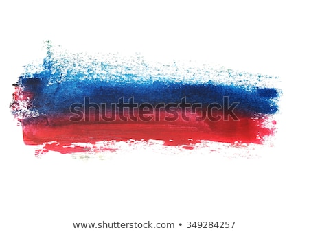 red blue watercolor stain abstract background Stock photo © SArts