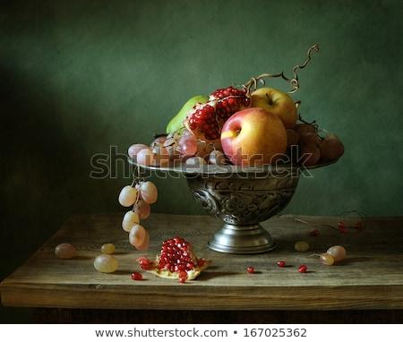 noix · feuille · fruits · noix · vert · laisse - photo stock © master1305