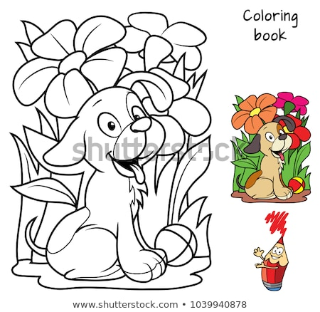 coloring book game for kids stock photo © olena