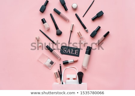 Beautiful makeup top view for advertising Stock photo © SergeyTay
