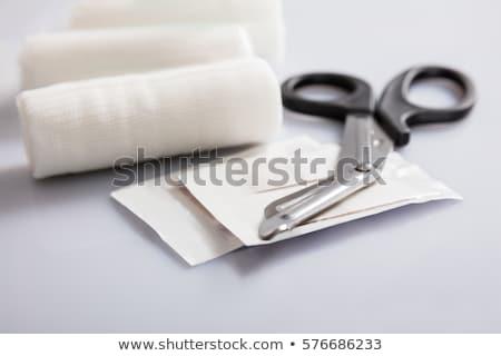 Close up image of a bandage Stock photo © devon