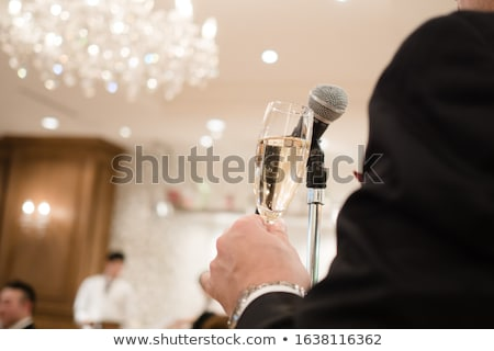 Groom giving a presentation. Stock photo © RAStudio
