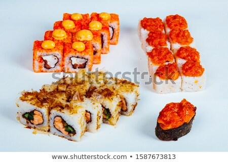 Sushi cibo giapponese ristorante pesce figura Foto d'archivio © dmitriisimakov