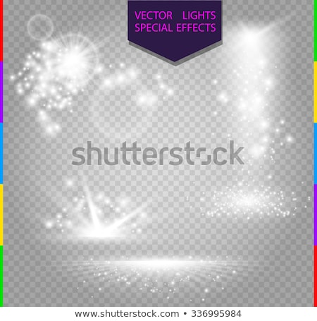 Transparent sparkle blurred background. Vector Stock photo © Andrei_