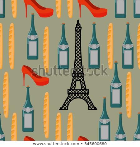 romantische · naadloos · vector · patroon · rozen - stockfoto © popaukropa