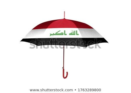 傘 フラグ イラク 先頭 黒 傘 ストックフォト © MikhailMishchenko