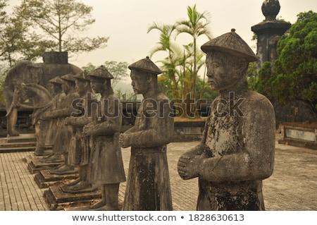 Vietnam, Hue. Royal Khai Dinh Tomb complex. stock photo © romitasromala