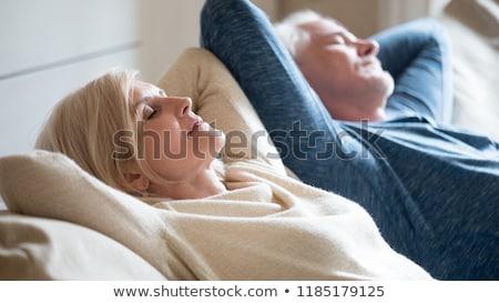 Szczęśliwy para kobieta człowiek przyjemność Zdjęcia stock © deandrobot
