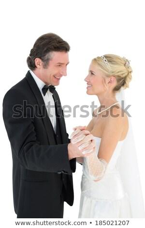 sposa · lo · sposo · insieme · abbraccio - foto d'archivio © kzenon