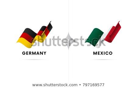 Mexic fotbal pavilion ilustrare sportiv proiect Imagine de stoc © colematt