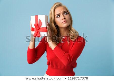 Ritratto singolare donna 20s indossare Foto d'archivio © deandrobot