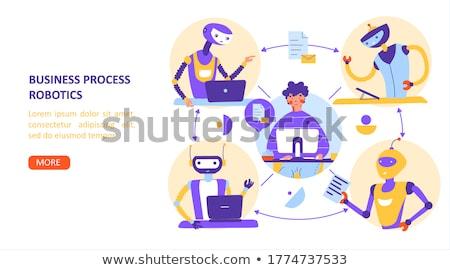Business analysis it concept vector illustration Stock photo © RAStudio