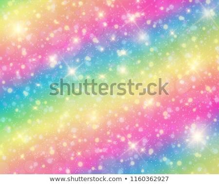 Vecteur résumé holographique pastel fond Rainbow Photo stock © pikepicture