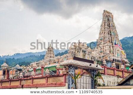 hindu temple Sri Mariamman Peng Island, Malaysia Stock photo © galitskaya