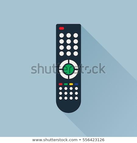 リモコン テレビ 孤立した アイコン ベクトル オブジェクト ストックフォト © robuart