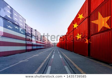 Китай · США · торговли · соглашение · Соединенные · Штаты · дело - Сток-фото © lightsource