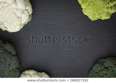 Romanesco broccoli isolated on a stone slab. Stock photo © lichtmeister