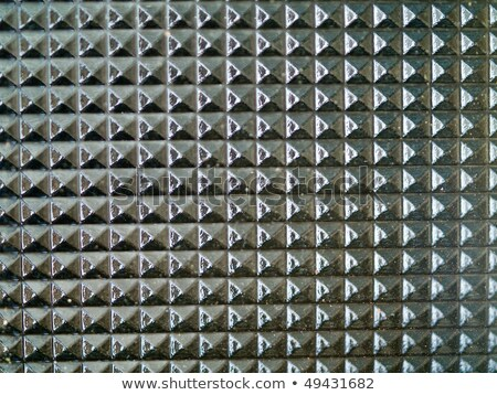 Glass Tabletop Closeup Macro Showing Repetitive Pattern Stock photo © Frankljr