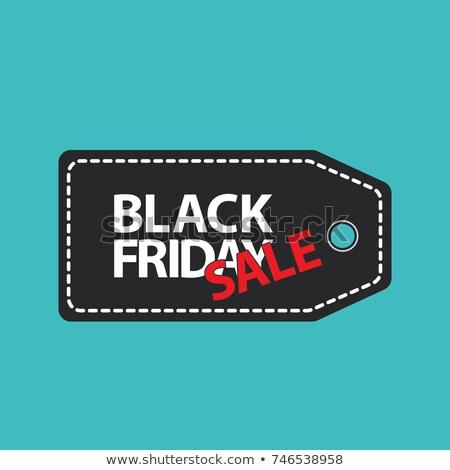 Black Friday Banner Discount 2017 Season Vector Stock photo © robuart
