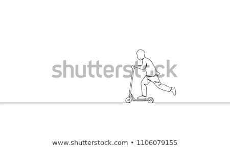 Leisure activities and sport - line design style banners Stock photo © Decorwithme
