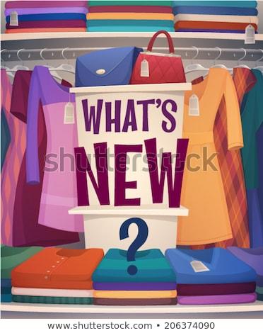 женщину одежды магазин бутик продажи вектора Сток-фото © robuart