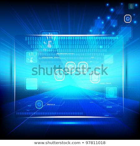 Innovativo schermo vettore metafore smartphone Foto d'archivio © RAStudio