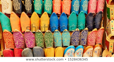 colorful slipper Stock photo © get4net