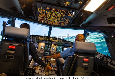 Airline Cockpit Stock photo © deyangeorgiev