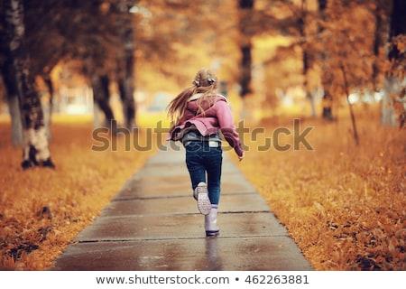 młoda · dziewczyna · lasu · kobieta · wiosną · trawy · muzyka - zdjęcia stock © paha_l