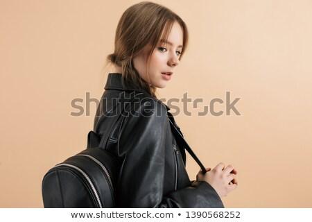 женщины · девушки · лице · черный - Сток-фото © mkm3