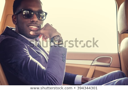 Young stylish black men Stock photo © get4net
