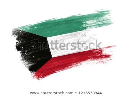 Grunge Flag of Kuwait Stock photo © HypnoCreative