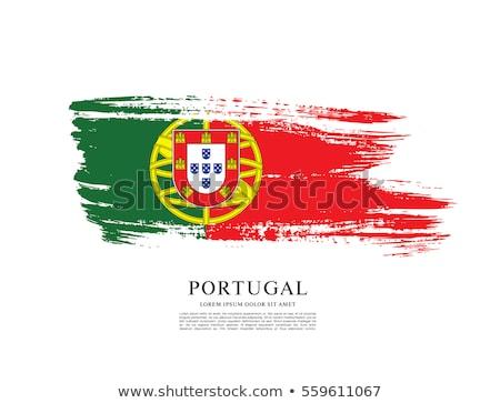 グランジ フラグ ポルトガル 古い ヴィンテージ グランジテクスチャ ストックフォト © HypnoCreative