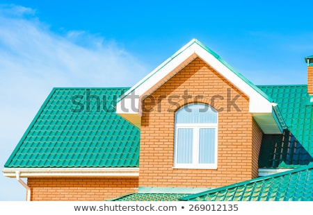 New House Peaks and Dormers Stock photo © ArenaCreative