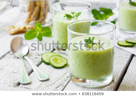 Cucumber soup Stock photo © joker