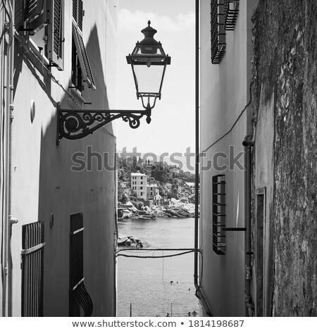 通り · イタリア · 典型的な · 都市景観 · 小 · 村 - ストックフォト © Antonio-S
