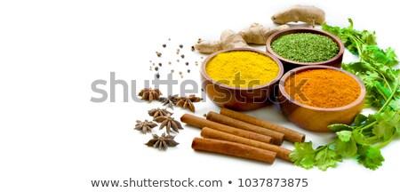 ingredientes · variedad · blanco · bolsa · hortalizas - foto stock © ampyang